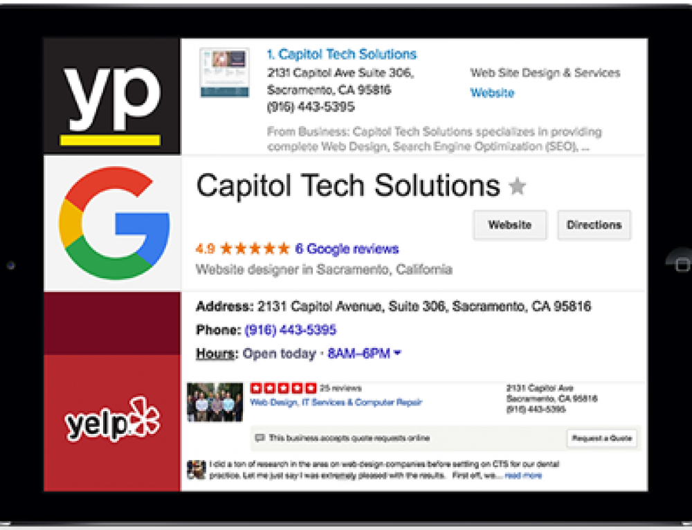 Sacramento Business Directory – Build Sacramento Online Presence