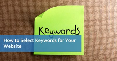 How to Select Keywords for Your Website