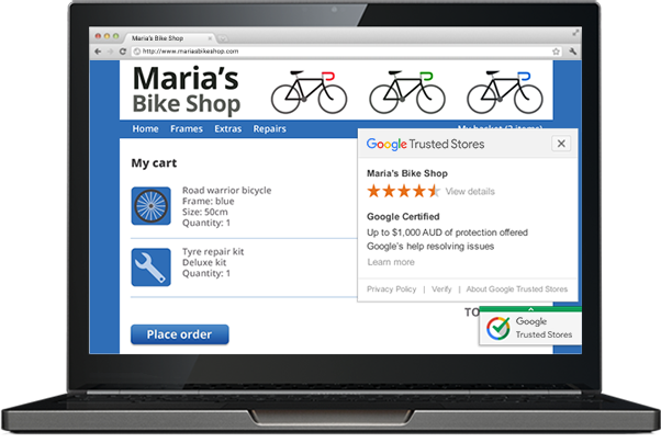What is google trusted stores