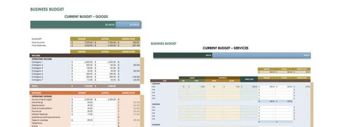 Business Budget Worksheets - Free Download | Dennis Seo