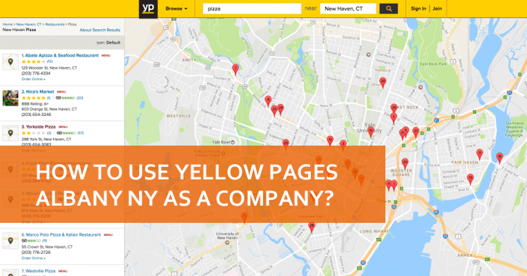 yellow pages albany ny