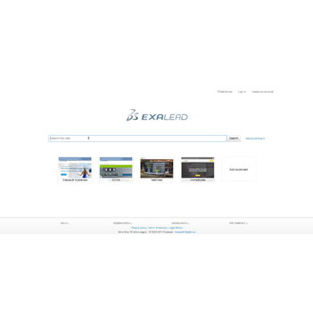 Exalead search engine list