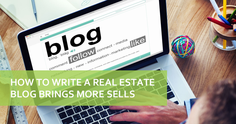 how to write a real estate blog