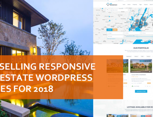 Best Selling Responsive Real Estate WordPress Themes For 2018