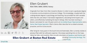 Ellen Grubert at Boston Real Estate