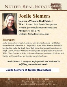 Joelle Siemers at Netter Real Estate