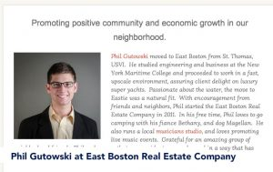 Phil Gutowski at East Boston Real Estate Company