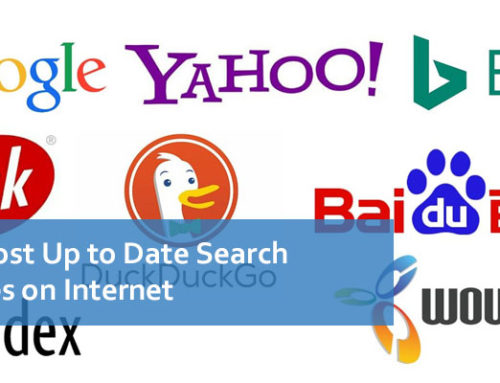 The Most Up to Date Search Engines on Internet